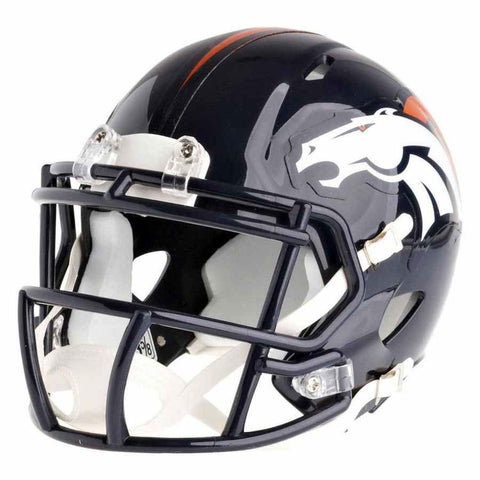 Denver Broncos Riddell Speed Mini Football Helmet