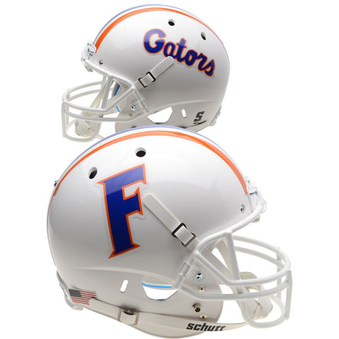 Florida Gators White Schutt XP Replica Football Helmet