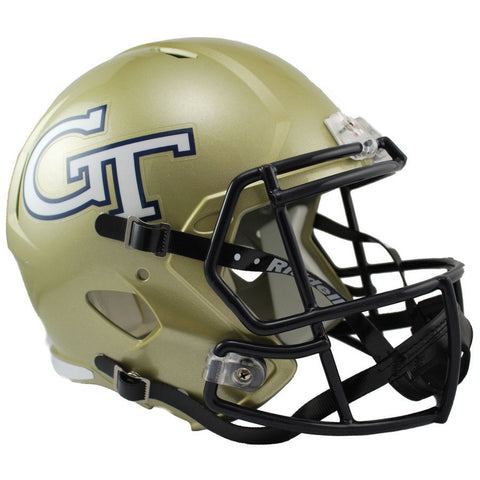 Georgia Tech Yellow Jackets Riddell Speed Full Size Replica Football Helmet