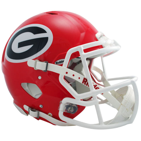 Georgia Bulldogs Riddell Revolution Speed Authentic Football Helmet