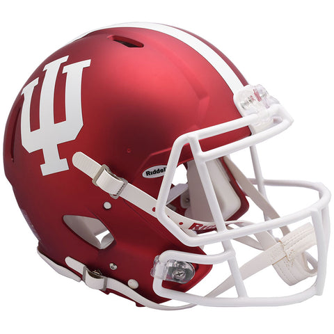 Indiana Hoosiers Anodized Riddell Speed Authentic Football Helmet