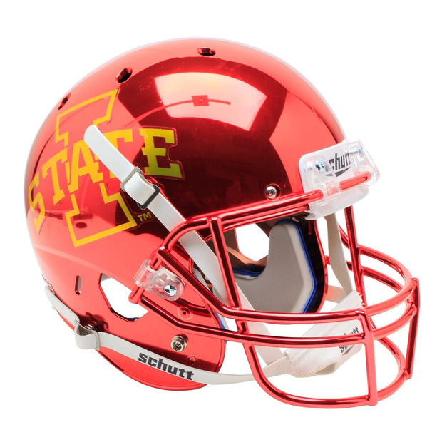 Iowa State Cyclones Chrome Schutt XP Replica Football Helmet