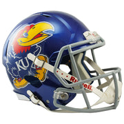 Kansas Jayhawks Riddell Speed Full Size Replica Football Helmet