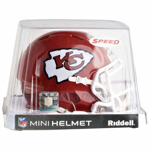 Kansas City Chiefs Riddell Speed Mini Football Helmet
