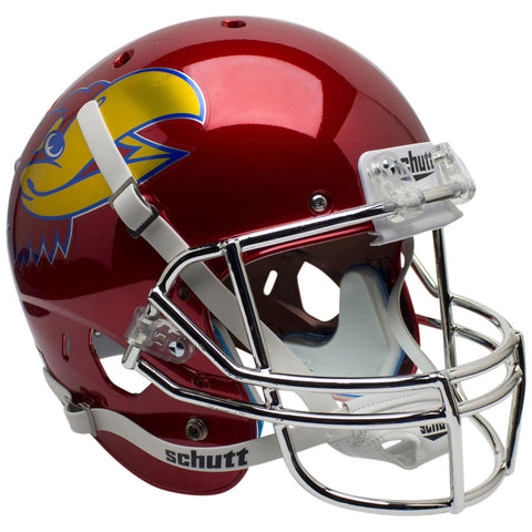 Kansas Jayhawks Scarlet Alternate Schutt XP Replica Football Helmet