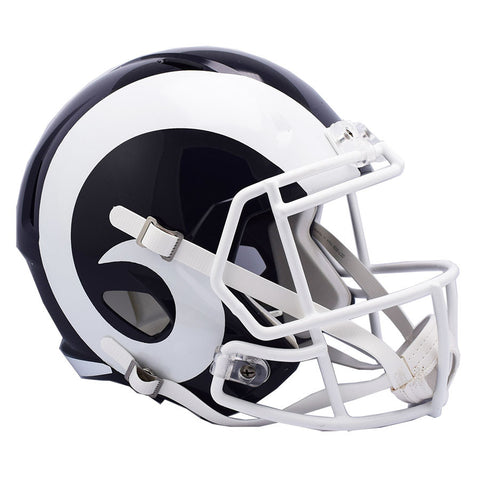 LA Rams White Riddell Speed Full Size Replica Football Helmet