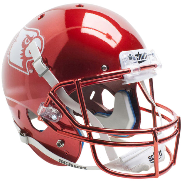 Louisville Cardinals Chrome Red Schutt XP Replica Football Helmet
