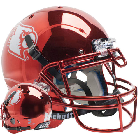 Louisville Cardinals Red Chrome Ali Schutt XP Authentic Football Helmet