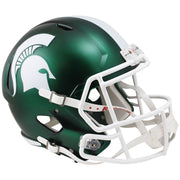 Michigan State Spartans Green Speed Full Size Replica Football Helmet
