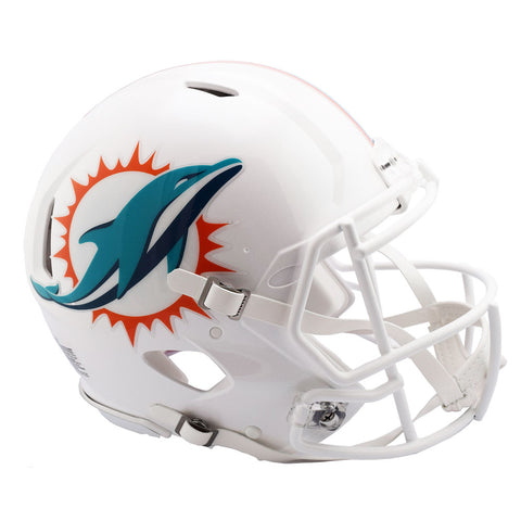 Miami Dolphins 13-17 Riddell Speed Authentic Football Helmet