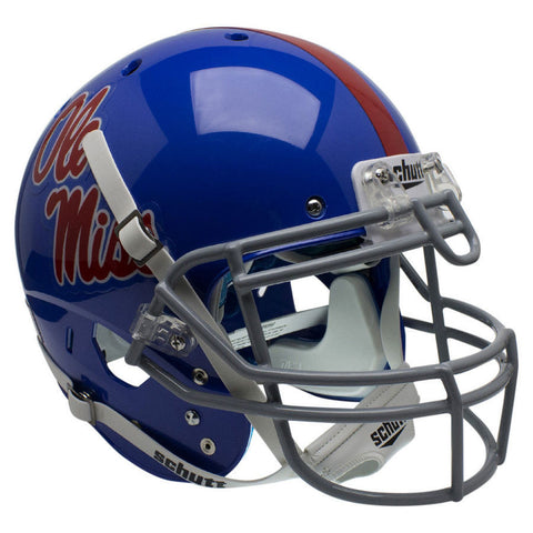 Mississippi (Ole Miss) Rebels Powder Blue Schutt XP Authentic Football Helmet