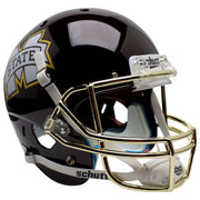 Mississippi State Bulldogs Chrome Grill Schutt XP Replica Football Helmet
