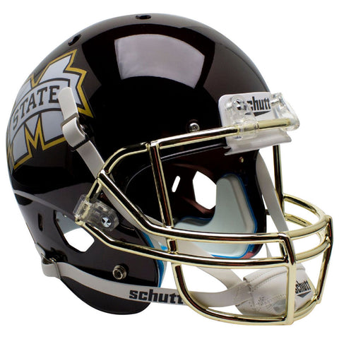 Mississippi State Bulldogs Chrome Mask Schutt XP Replica Football Helmet
