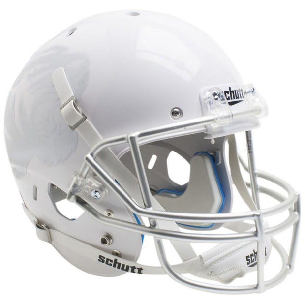 Missouri Tigers White Silver Grill Schutt XP Replica Football Helmet