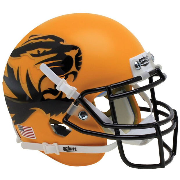 Missouri Tigers Yellow Schutt XP Replica Football Helmet