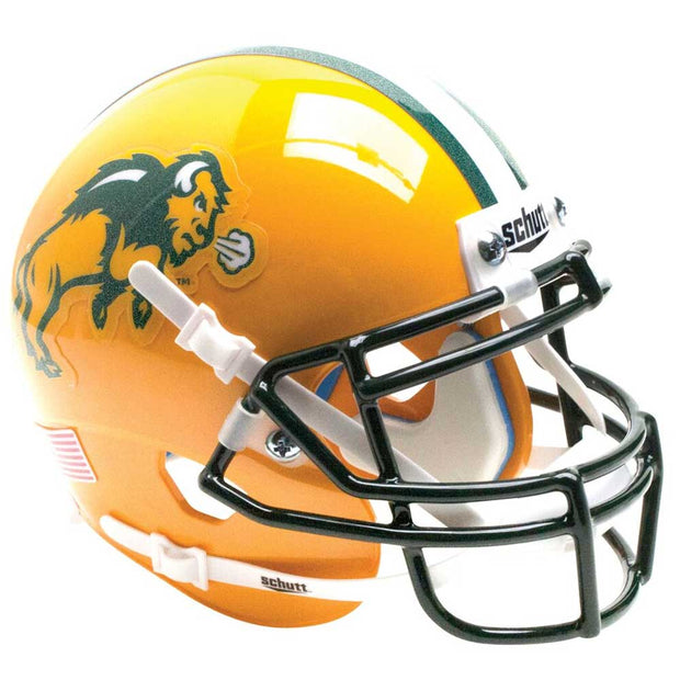 NDSU Bison Glitter Flake Schutt XP Authentic Football Helmet