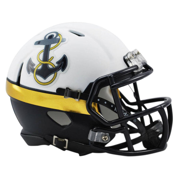 Navy Midshipmen 2012 Special Riddell Speed Mini Football Helmet