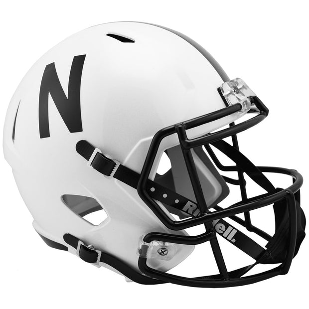 Nebraska Cornhuskers Black Speed Full Size Replica Football Helmet