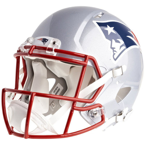 New England Patriots Riddell Revolution Speed Authentic Football Helmet