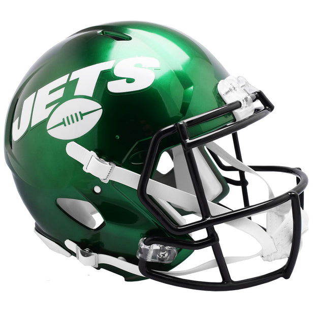 New York Jets Riddell Revolution Speed Authentic Football Helmet