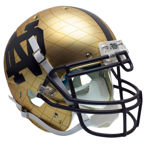 Notre Dame Fighting Irish 2014 HydroSkin Schutt XP Authentic Helmet