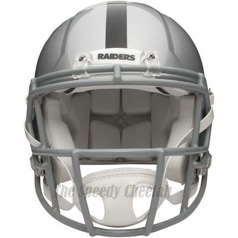 Oakland Raiders Riddell Revolution Speed Authentic Football Helmet