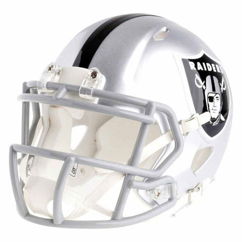 Oakland Raiders Riddell Speed Mini Football Helmet