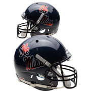 Ole Miss Rebels Chrome Decal Schutt XP Authentic Football Helmet