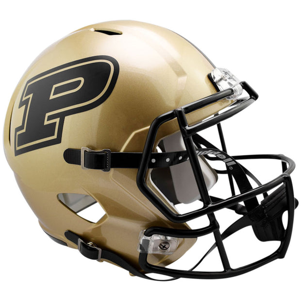 Purdue Boilermakers Riddell Speed Full Size Replica Football Helmet