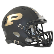 Purdue Boilermakers Anodized Black Speed Mini Football Helmet