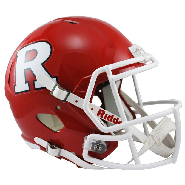 Rutgers Scarlet Knights Riddell Speed Full Size Replica Football Helmet