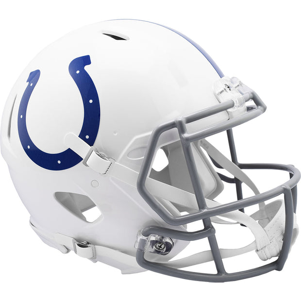 Indianapolis Colts 2020 Riddell Revolution Speed Authentic Football Helmet