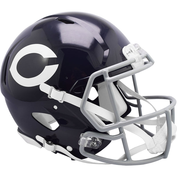 Chicago Bears 1962-73 Riddell Throwback Authentic Football Helmet