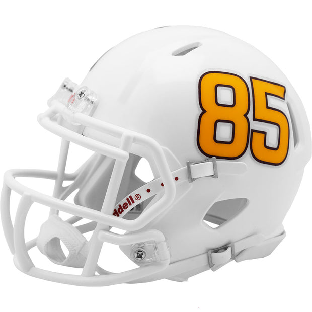 ASU Sun Devils White Metallic 85 Riddell Speed Mini Football Helmet