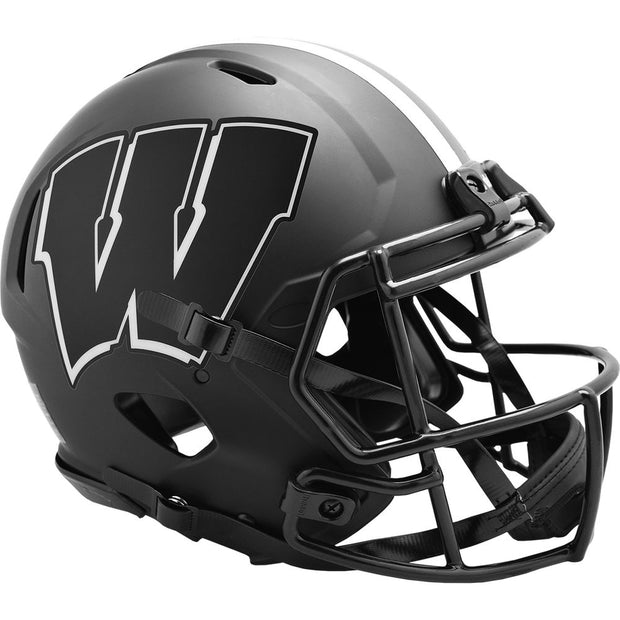 Wisconsin Badgers Eclipse Riddell Speed Authentic Football Helmet