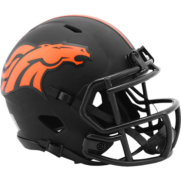 Denver Broncos Eclipse Riddell Speed Mini Football Helmet