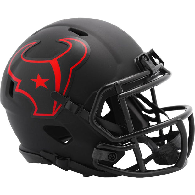 Houston Texans Eclipse Riddell Speed Mini Football Helmet