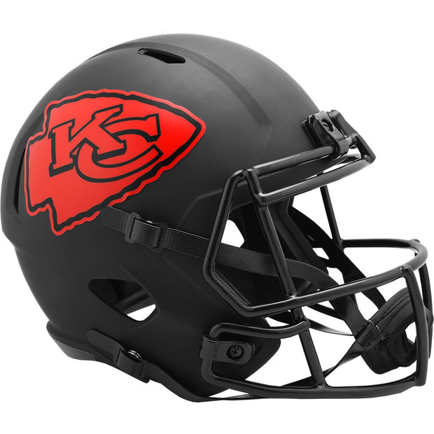 Kansas City Chiefs Eclipse Riddell Speed Full Size Replica Football Helmet