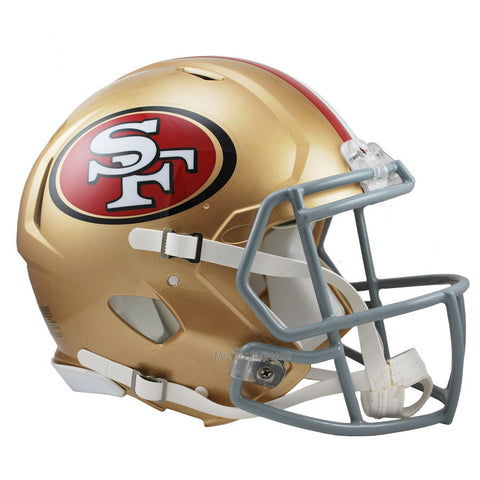 San Francisco 49ers Riddell Revolution Speed Authentic Football Helmet