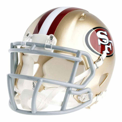 San Francisco 49ers Riddell Speed Mini Football Helmet