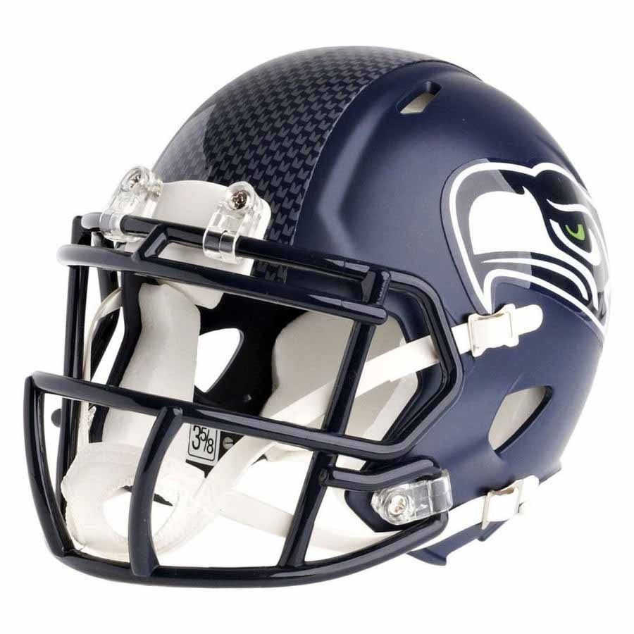 Seattle Seahawks Riddell Speed Mini Football Helmet