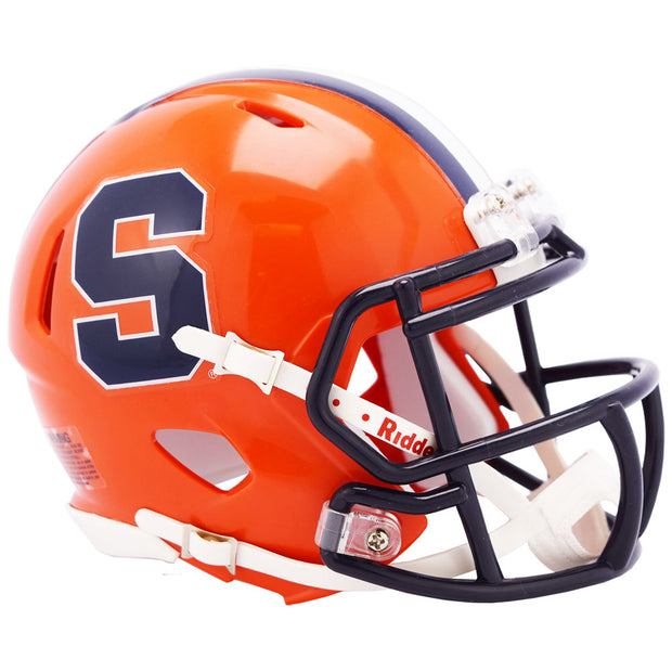 Syracuse Orange Riddell Speed Mini Football Helmet