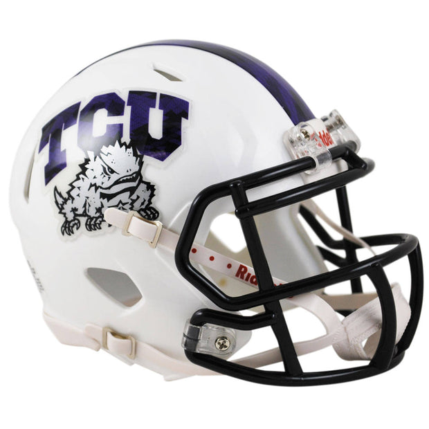 TCU Horned Frogs 2015 Frog Skin Speed Mini Football Helmet