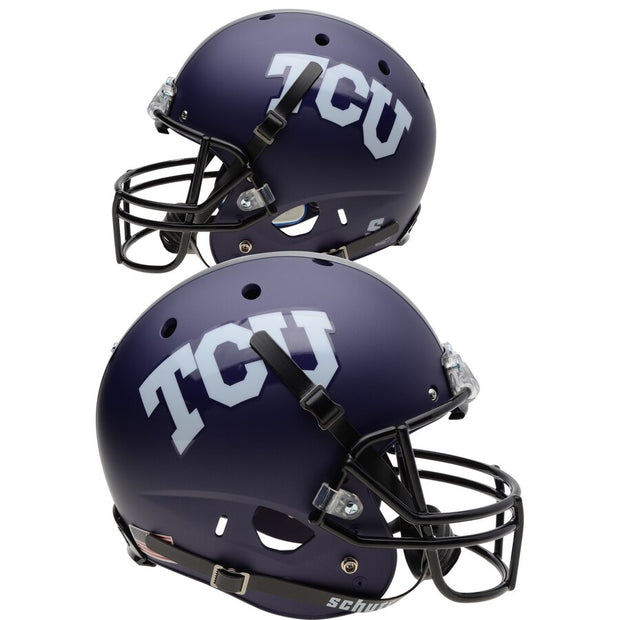 TCU Horned Frogs Matte Schutt XP Replica Football Helmet