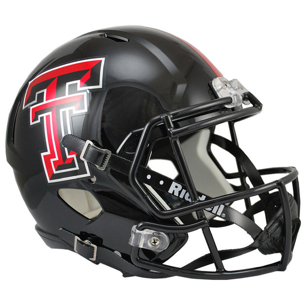 Texas Tech Red Raiders Riddell Speed Full Size Replica Football Helmet