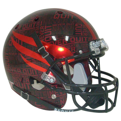 Texas Tech Red Raiders Never Quit Schutt XP Replica Football Helmet