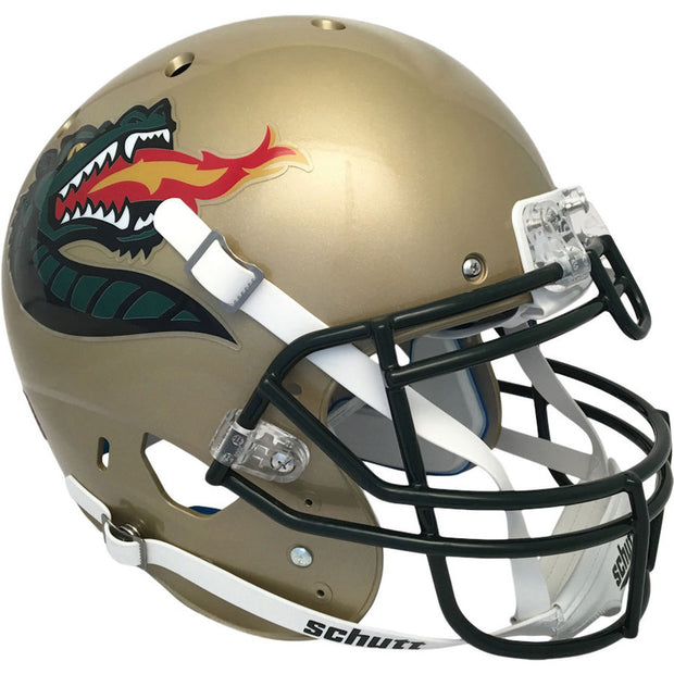 UAB Blazers Gold Dragon Schutt XP Authentic Football Helmet
