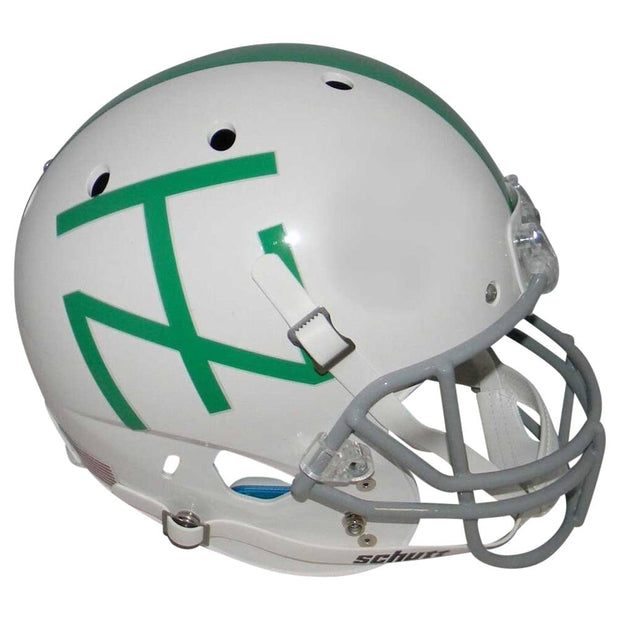 UNT Mean Green 1967 White Mean Jo Greene XP Replica Football Helmet