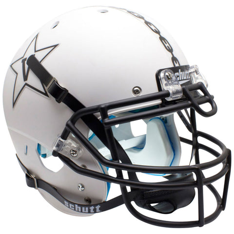Vanderbilt Commodores White Anchor Schutt XP Authentic Football Helmet