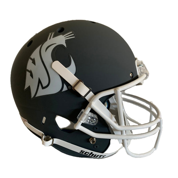 WSU Cougars Matte Gray Schutt XP Replica Football Helmet